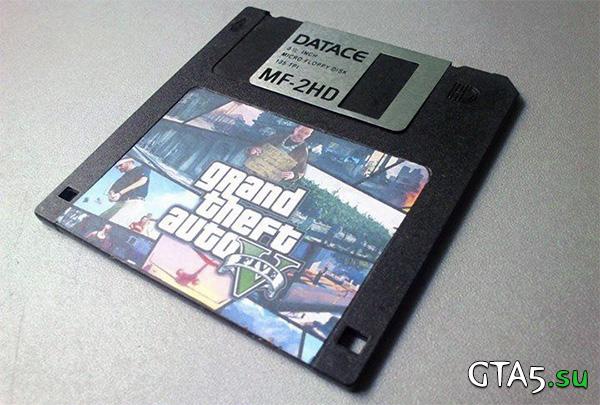 Дискета GTA 5