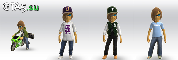 Аватары GTA 5 в Xbox Live