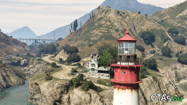 GTA V маяк