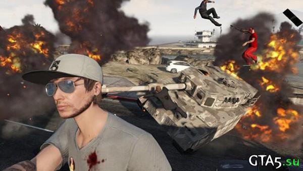 Взрывы GTA Online