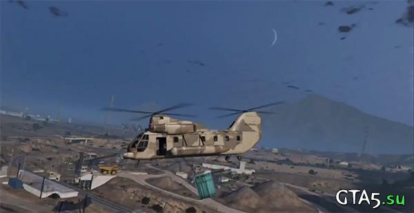 Вертолет GTA Online