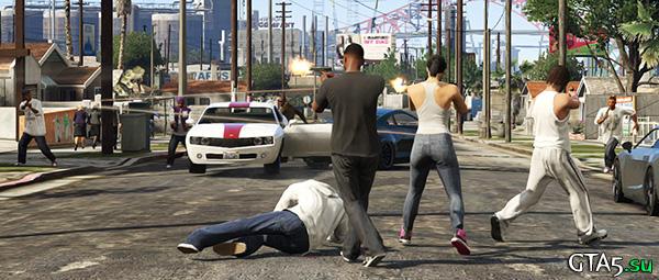 Deathmatch GTA Online