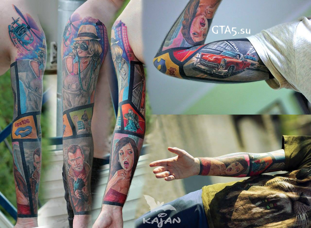 Татуировки GTA