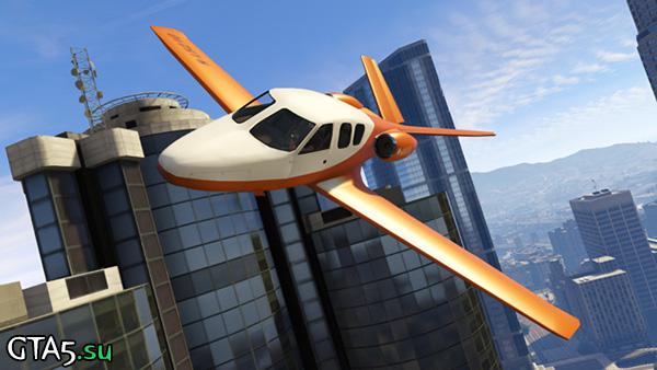 GTA Online plane