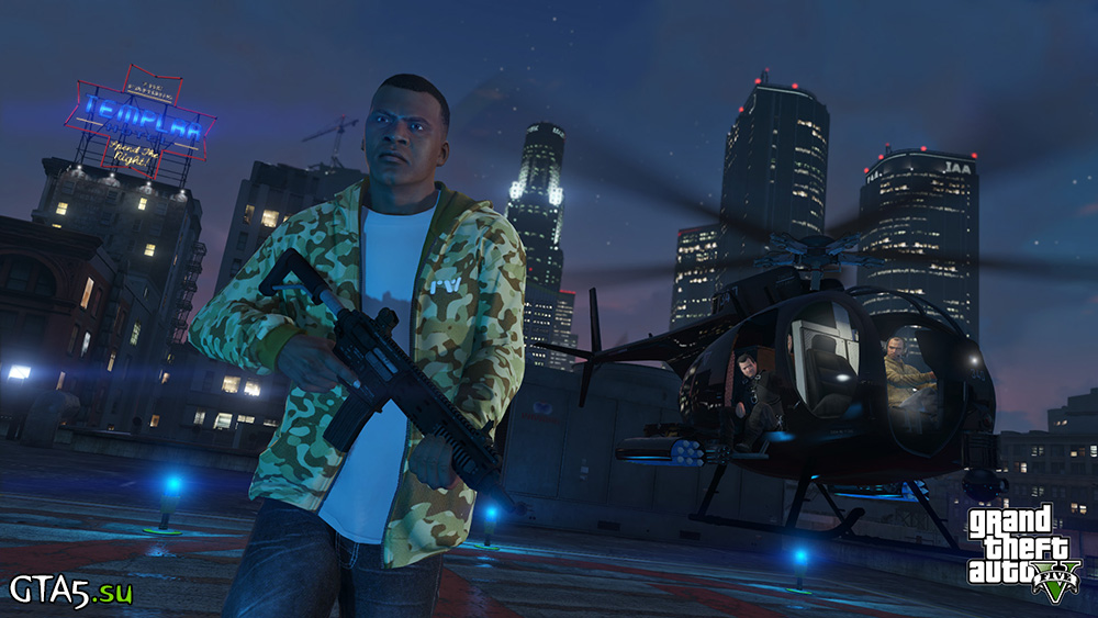 Скриншоты новой версии GTA 5