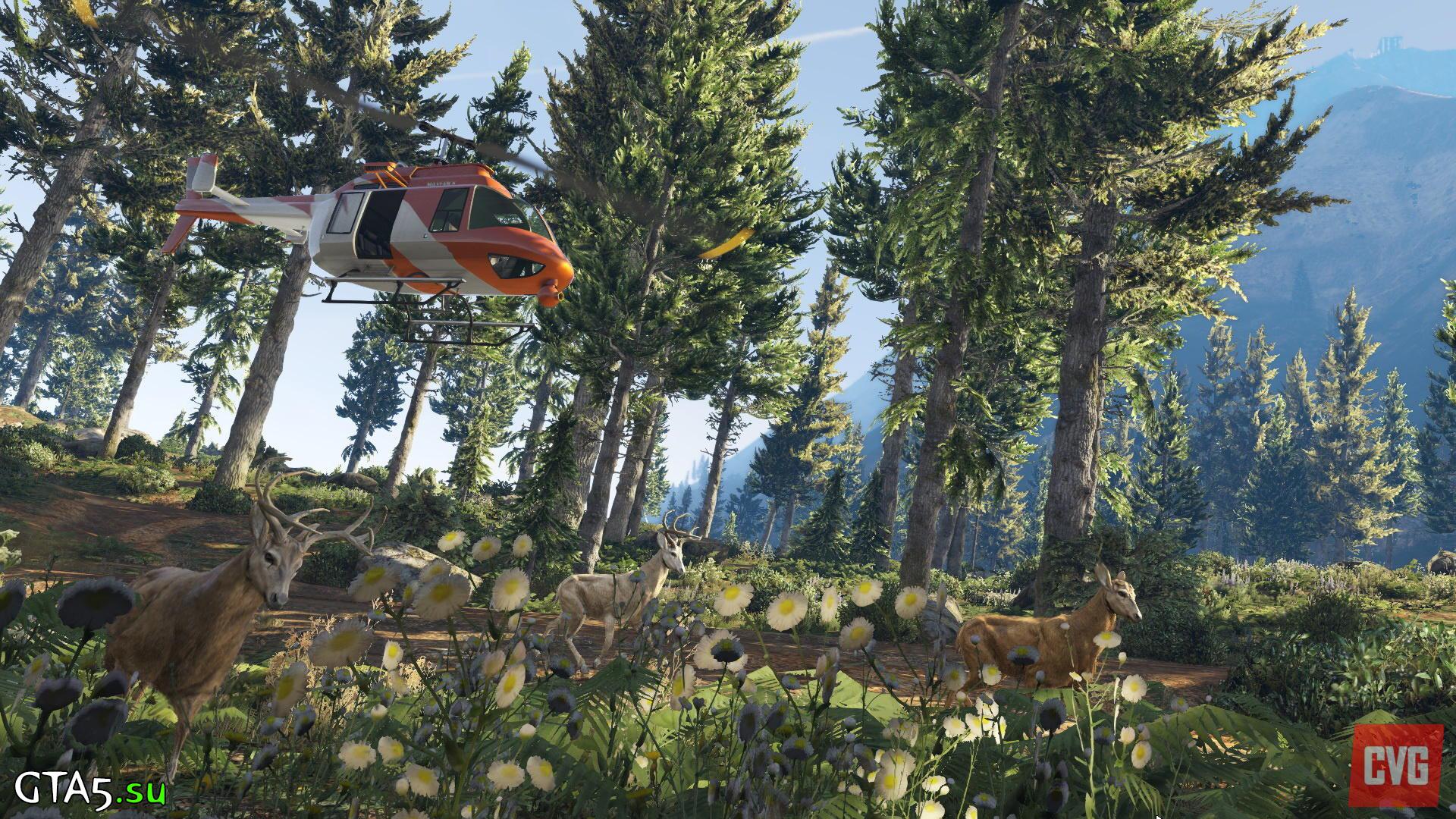 Скриншот GTA 5 на PC