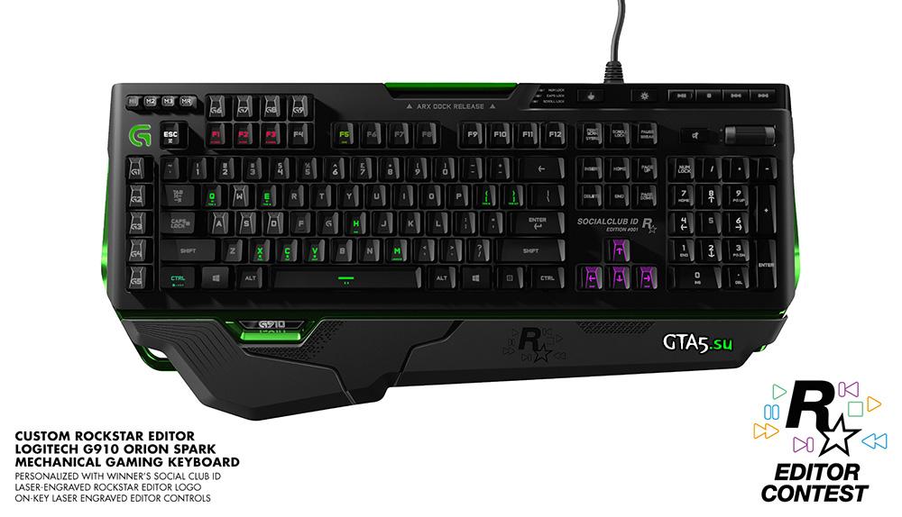 игровая клавиатура G910 Orion Spark