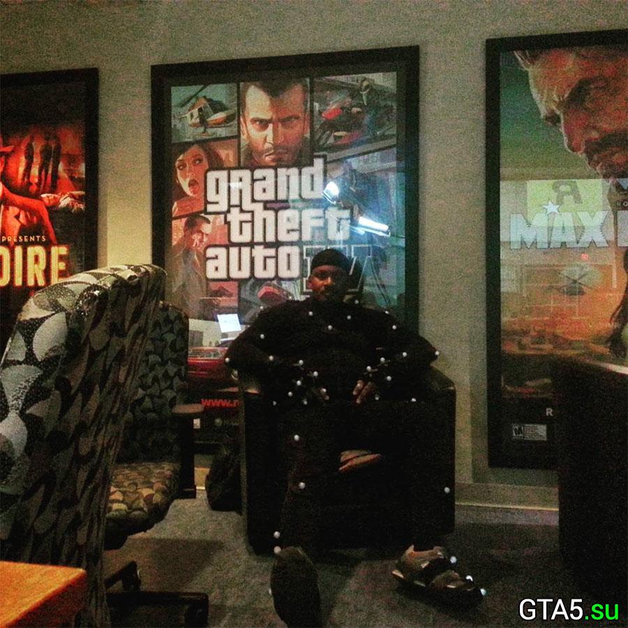 Шон Фонтено в офисе Rockstar Games