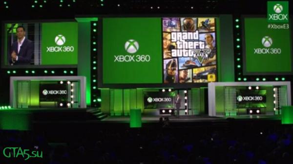 GTA 5 Xbox 360 E3