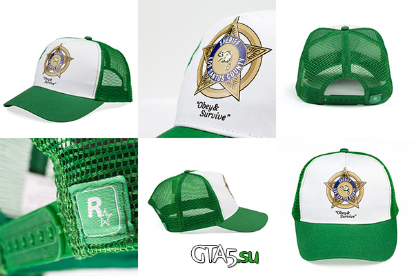 кепка шерифа GTA 5