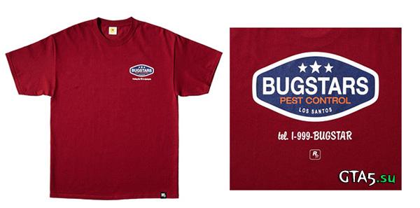 Футболка с логотипом Bugstars