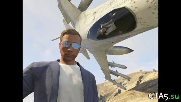 Истребитель GTA Online