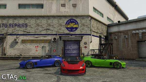 Машины в GTA Online