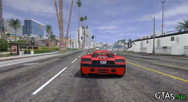 Улицы Лос-Сантоса в GTA 5