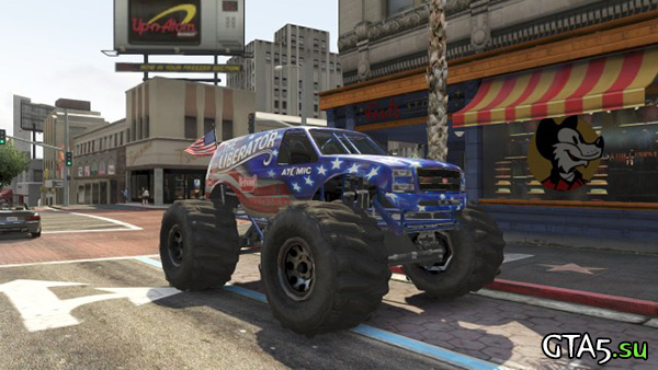 Independence Day car