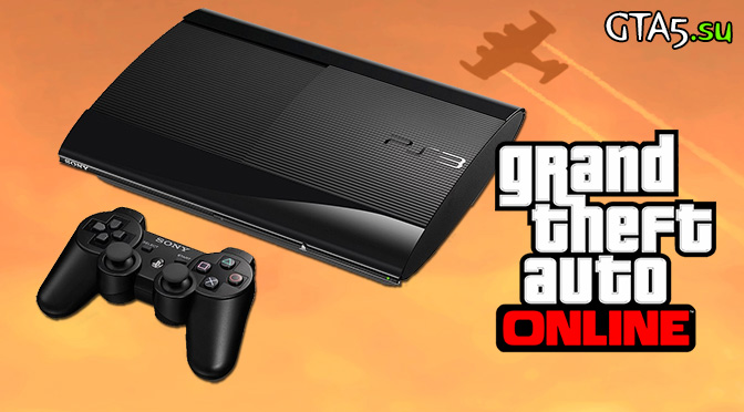 PS3 slim GTA Online