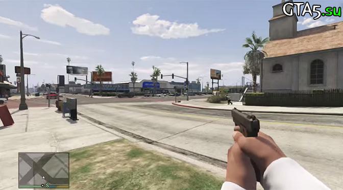 Вид от первого лица в GTA 5 может появиться официально