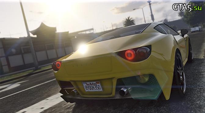 GTA V PS4 screen
