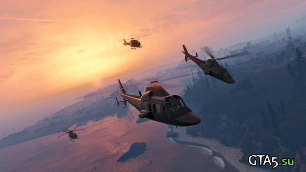 Вертолёты GTA Online