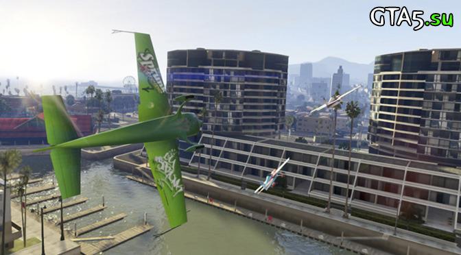 Летайте проверенными маршрутами — 10 гонок от Rockstar Games