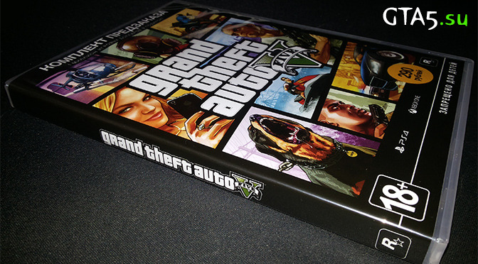 Комплект предзаказа GTA V в М.Видео
