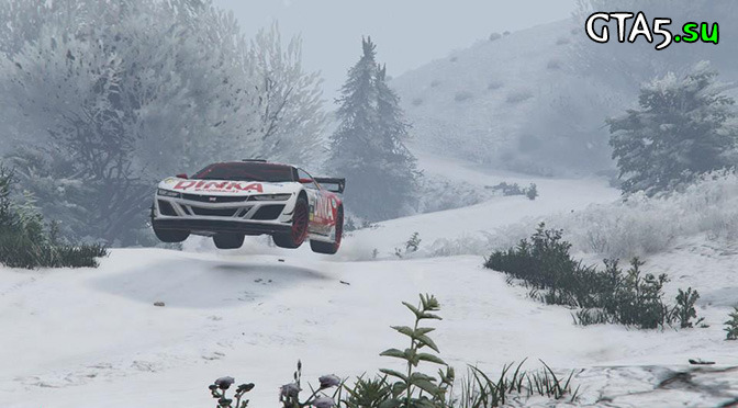 Возвращение снега в GTA Online