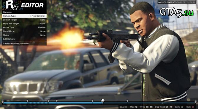 Редактор Rockstar для пользователей PS4 и Xbox One
