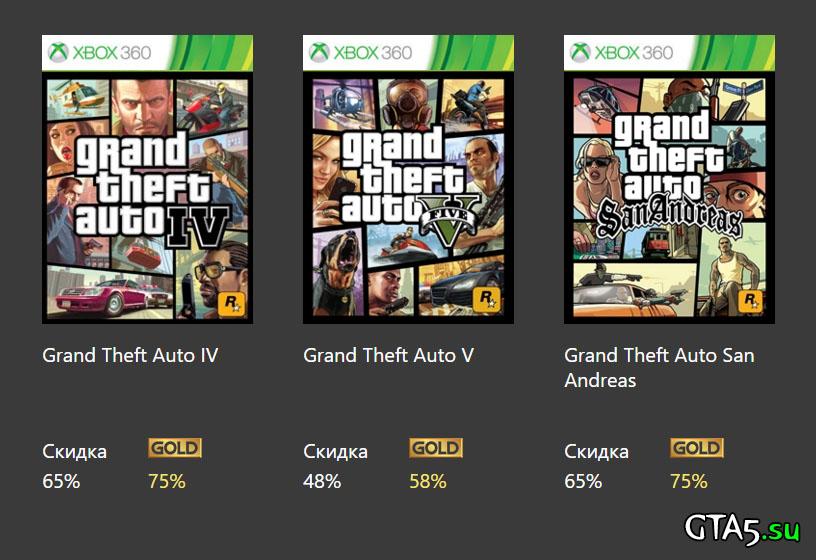 Xbox 360 GTA