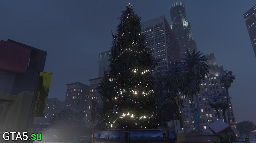 В GTA Онлайн пропал снег