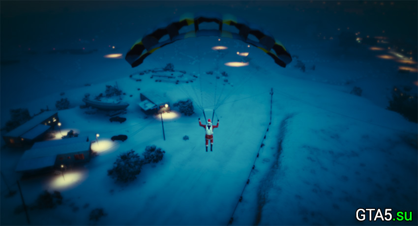Вновь увидеть снег в GTA Online будет можно лишь через год