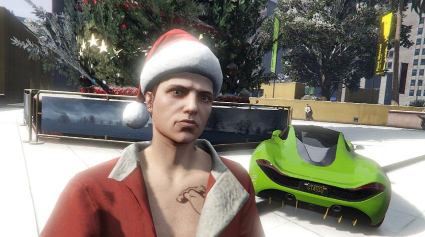 Праздничный сюрприз 2015: последний день в GTA Online