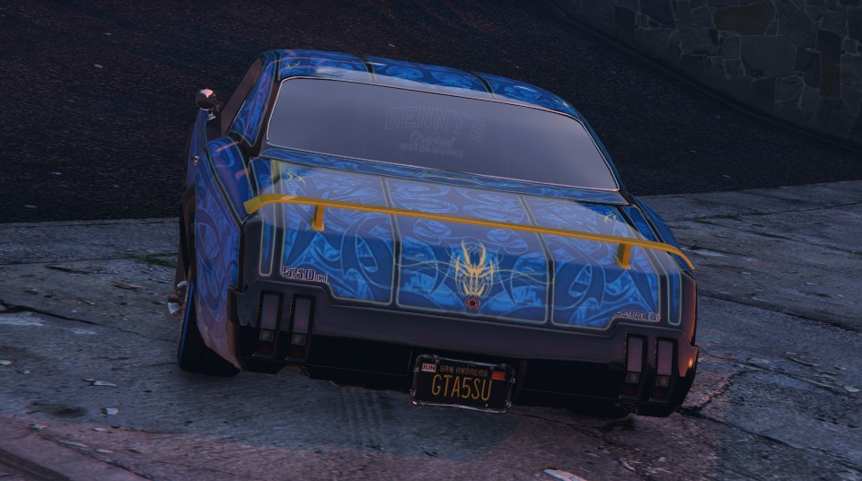 Declasse Sabre Turbo в GTA Online