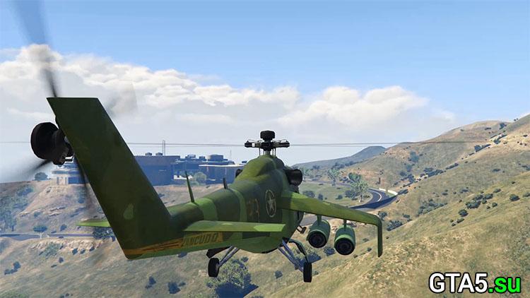 Зелёный вертолёт