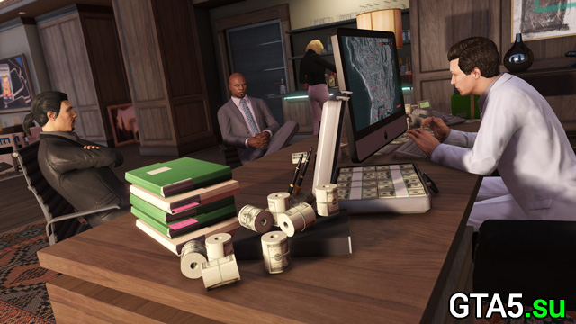 Новые приключения бандитов и мошенников — обновление GTA Online