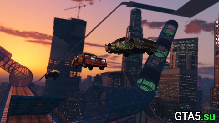 Лихачи и трюкачи — трейлер обновления GTA Online