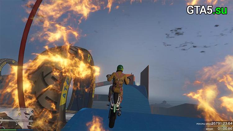 Создайте свои суперские каскадерские гонки в GTA 5 Online