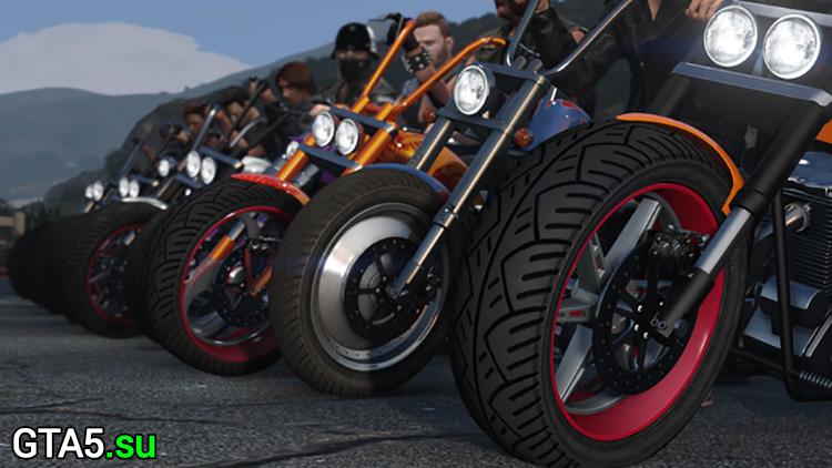 Байкеры — крупное обновление для GTA Online