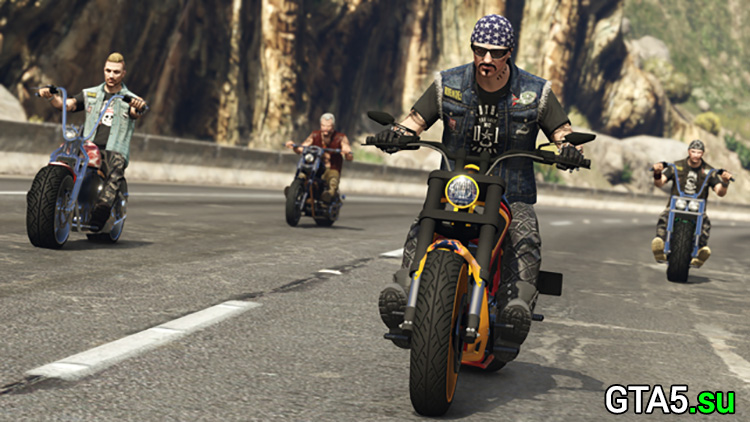 Скриншоты обновления Байкеры для GTA Online