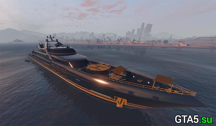 Яхта в GTA Online
