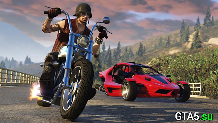 Заказной Western Daemon и BF Raptor уже в GTA Online Байкеры