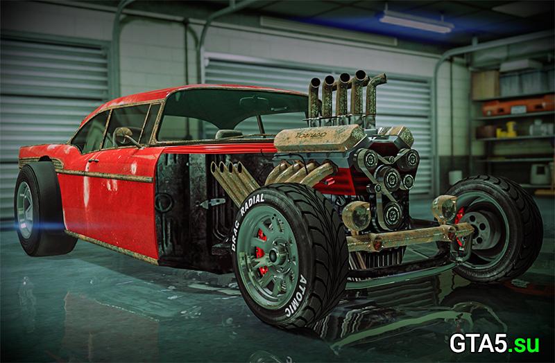 Машина Tornado Rat Rod и гонка Городской воздух в GTA Online