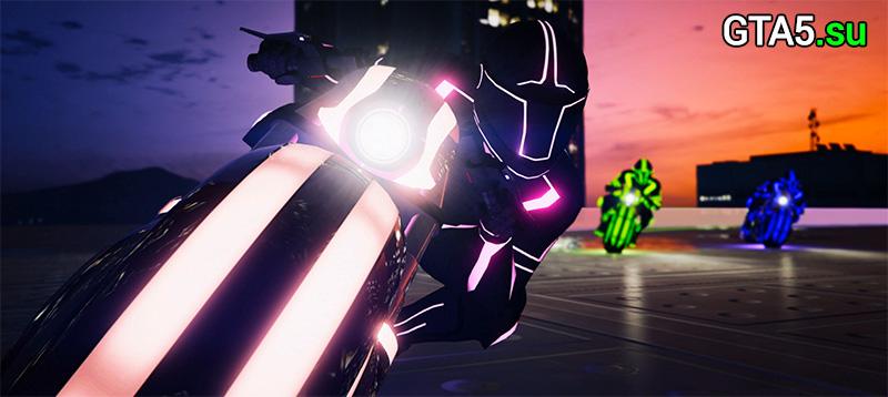 GTA Online Дедлайн — противоборство и мотоцикл Shotaro