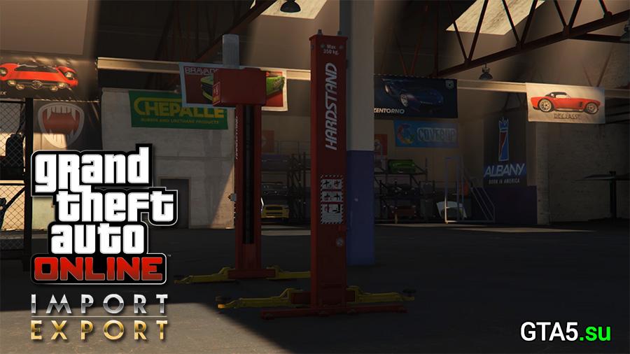 GTA Online: Импорт/экспорт уже доступен в сетевом режиме GTA V