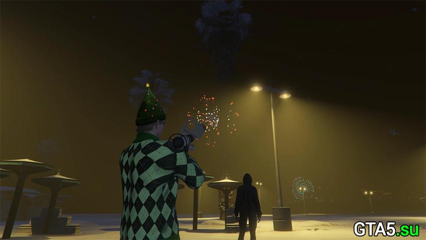 Фейерверки в GTA Online
