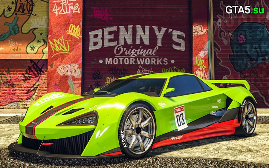 Progen Itali GTB в GTA Online ожидает любителей заказных суперкаров