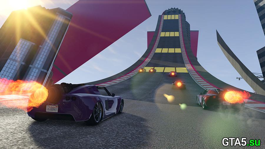 Гонки на особом транспорте в GTA Online