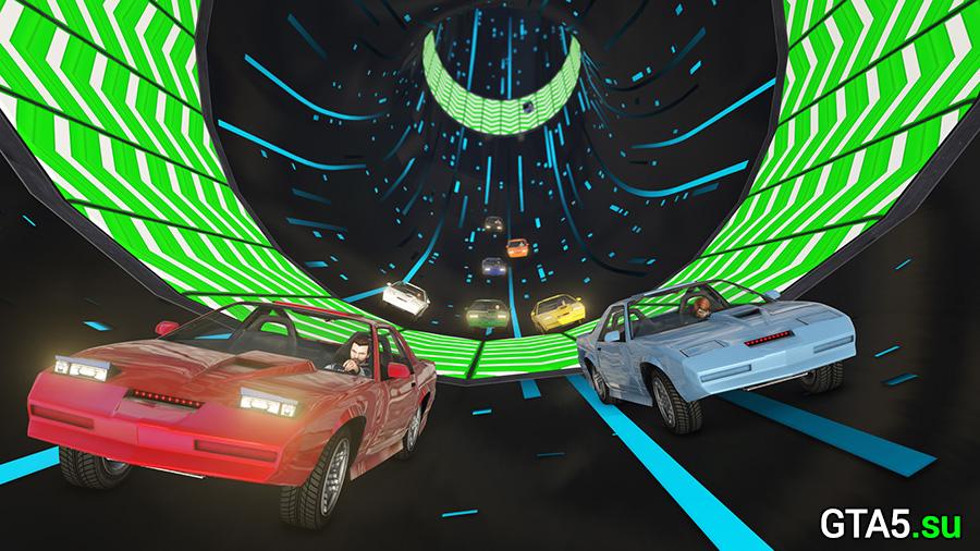 Обновление Лихачи и трюкачи: Особые гонки для GTA Онлайн