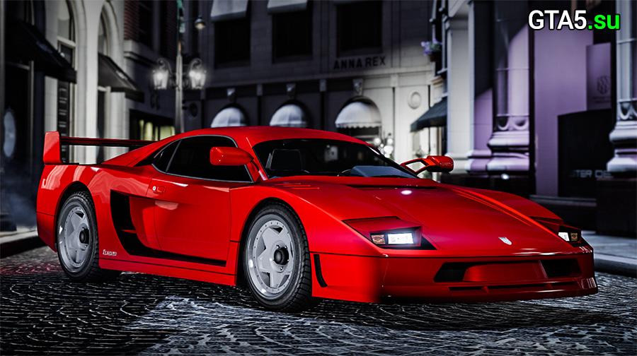 Авто Grotti Turismo Classic в ГТА 5 онлайн на PC, Xbox One и PS4