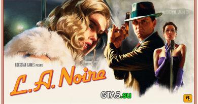 Трейлер L.A. Noire