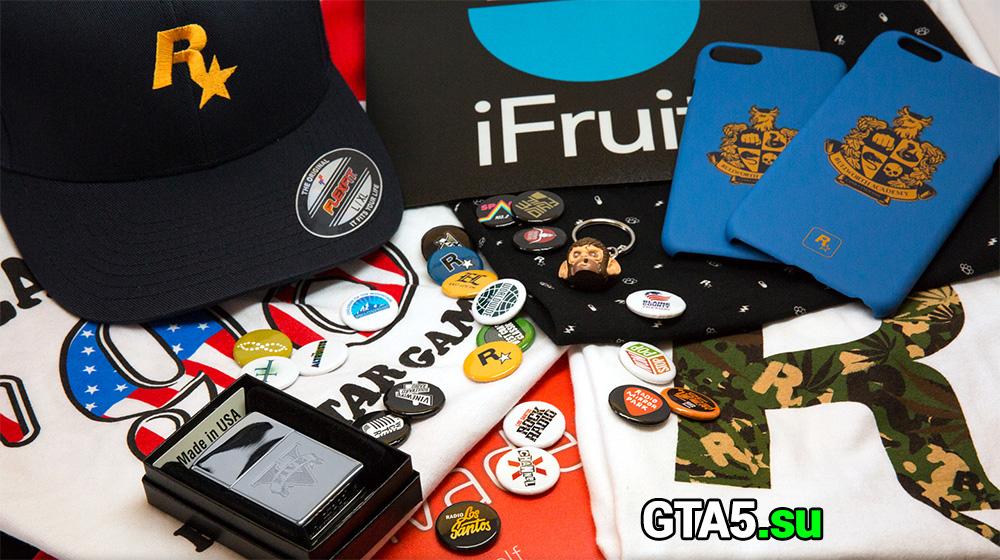 Коллекция сувениров Rockstar Games